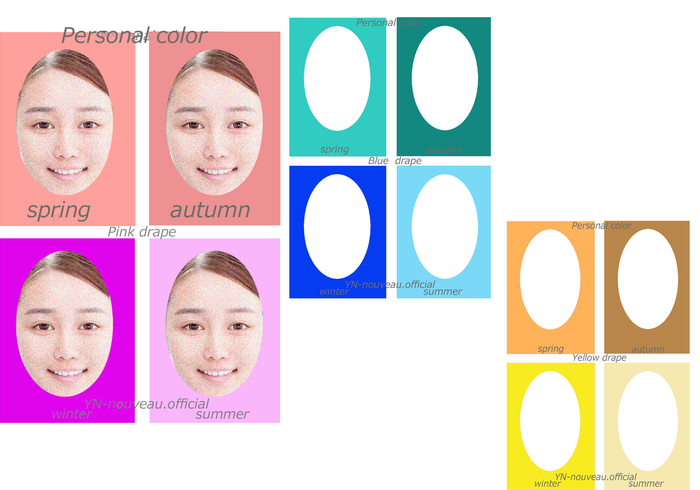 画像1: パーソナルカラー診断&骨格診断&顔診断養成講座♪ (1)
